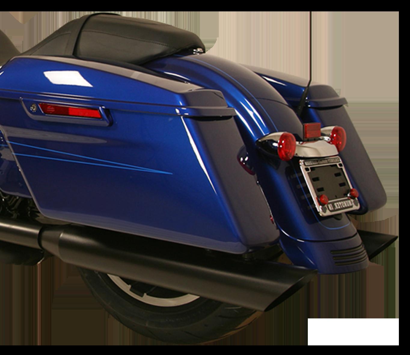 Harley - 32S11-Gangster-Black-Rearend